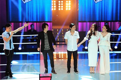 Con gái Chiều Xuân bị loại The Voice Kids - 1