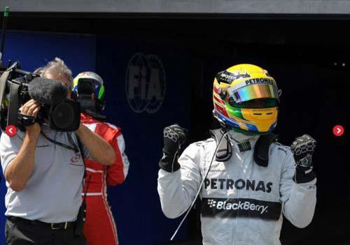 F1 - German GP: Hamilton vượt qua Vettel đoạt Pole - 1