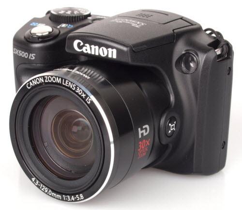 Đánh giá máy ảnh Canon PowerShot SX500 IS - 1