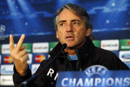 HLV Mancini cảnh báo Pellegrini - 1