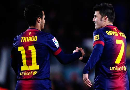Barca: Săn Rooney bằng Thiago + Villa - 1