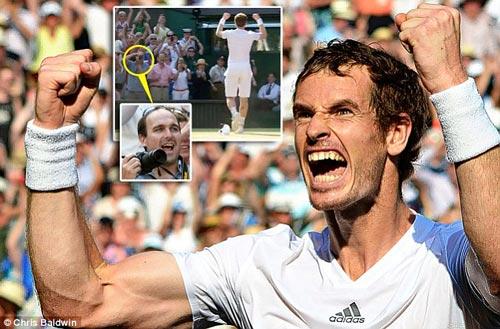 CĐV may mắn nhất Wimbledon - 1