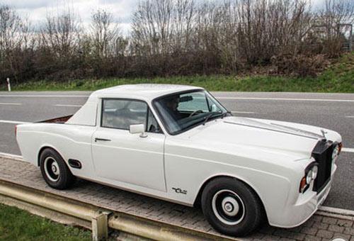 Lạ kỳ Rolls-Royce bán tải - 1