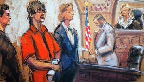 Nghi phạm đánh bom Boston chối tội tại tòa - 1