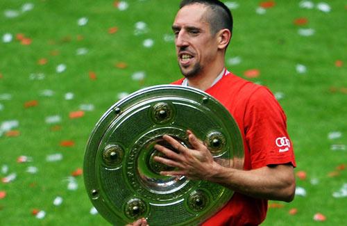 Ribery muốn tranh QBV với Messi - 1
