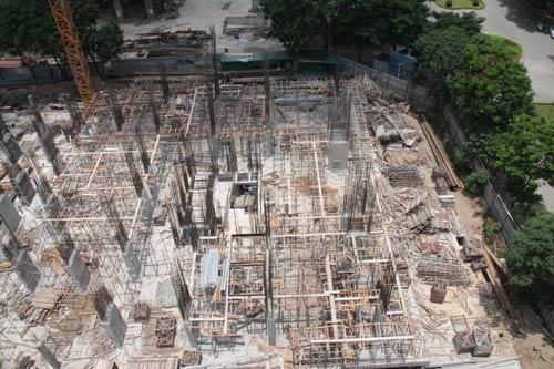 Rao bán căn hộ dự án bị đình chỉ thi công - 1