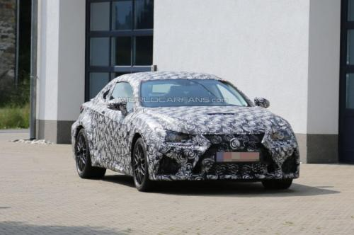 Lexus IS F Coupe 2015 lộ ảnh thử nghiệm - 1