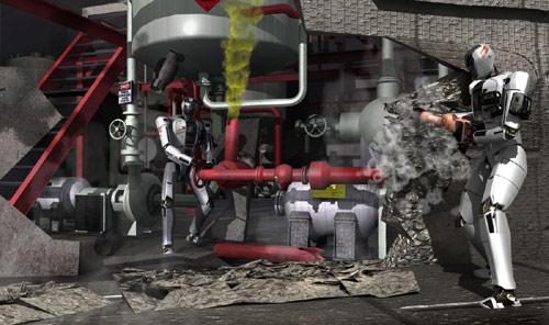 Mỹ: Thi dùng robot quân sự làm thay việc lính - 1