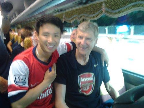 """""""Running Man"""" được tặng vé VIP xem Arsenal - 1"""