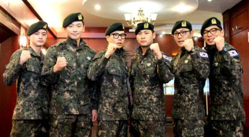 """Quân đội Hàn Quốc xóa bỏ đơn vị """"lính cậu"""" - 1"""