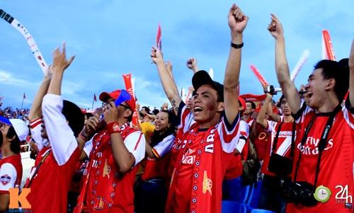ĐT Việt Nam như vừa vô địch World Cup - 1