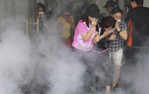 Hàn Quốc diễn tập sơ tán dân chống Triều Tiên - 1