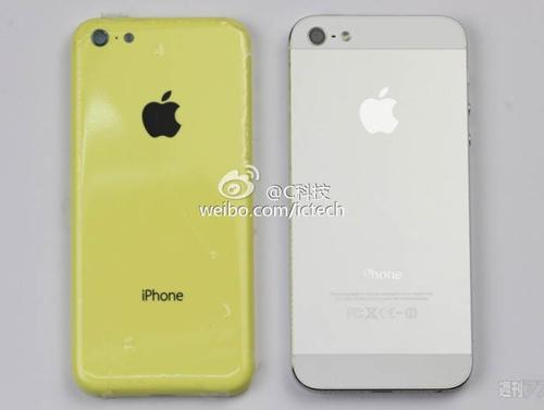 Lộ ảnh chi tiết iPhone giá rẻ cạnh iPhone 5 - 1