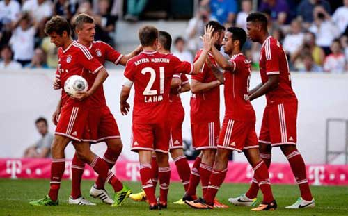 Bayern - M'Gladbach: Danh hiệu đầu tiên - 1
