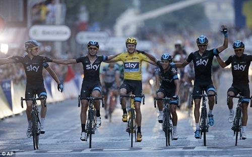 Nhà vô địch lịch sử của Tour de France - 1