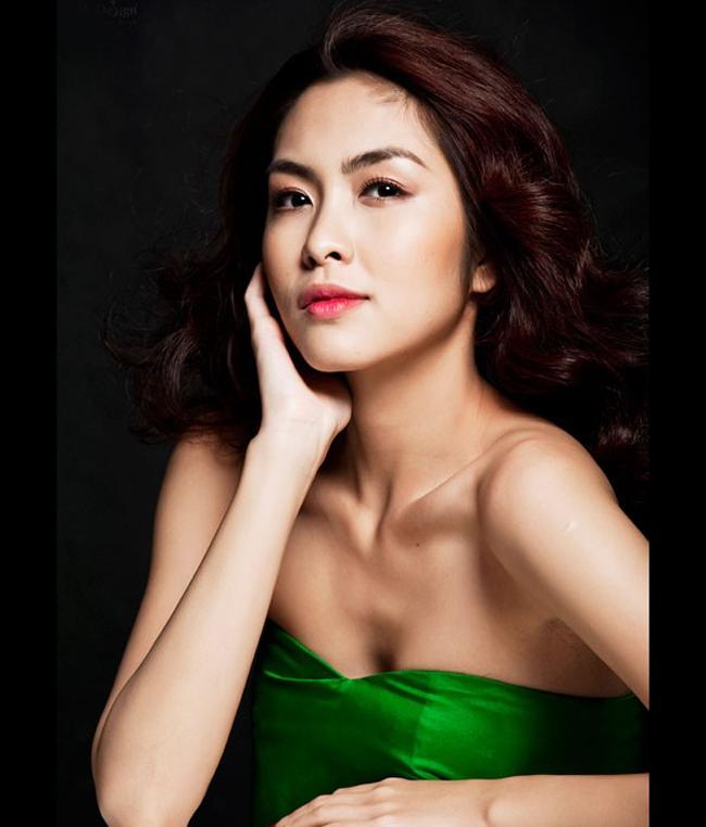 Sở hữu đôi mắt biết cười, Tăng Thanh Hà luôn phù hợp với những vai cá  tính, người phụ nữ trong sáng, phúc hậu.