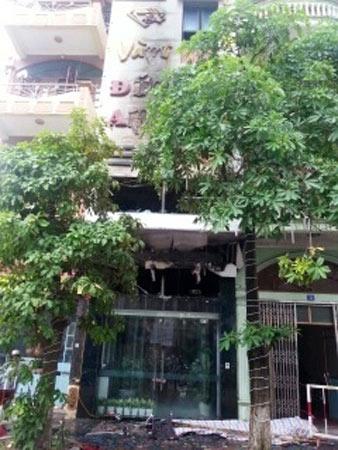 Cháy tiệm vàng ở Hạ Long, 5 người chết - 1