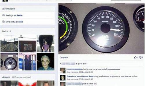 """TBN: Lái tàu """"khoe"""" tốc độ trên Facebook - 1"""