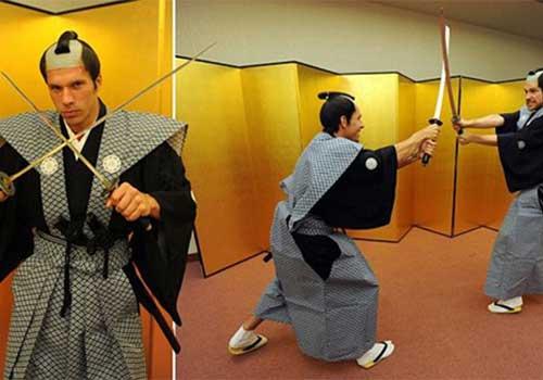 Sao NHA hóa thân thành Samurai - 1
