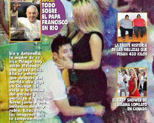 """Xuất hiện hình ảnh """"vụng trộm"""" của Messi - 1"""