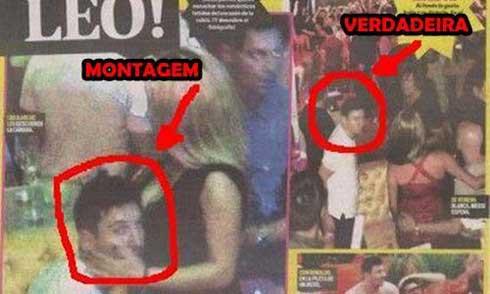 Vụ Messi ôm gái lạ chỉ là photoshop - 1