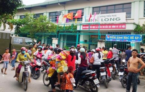 Tp.HCM: Bảo vệ trường học bị giết trong đêm - 1