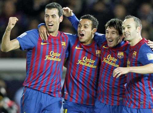 Barca - Santos: Phô diễn và vùi dập - 1