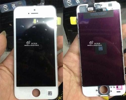 iPhone 5C lộ ảnh màn hình - 1