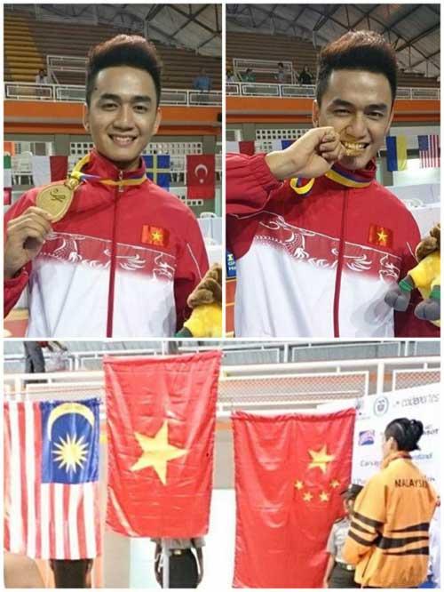Thanh Tùng Idol vô địch wushu thế giới - 1
