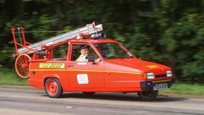 Xe cứu hỏa nhỏ nhất thế giới - 1
