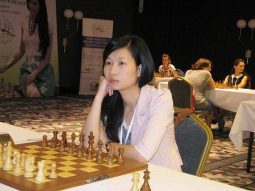 Kỳ thủ Hoàng Thanh Trang vô địch cờ vua châu Âu - 1