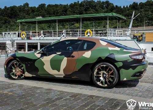 Maserati GranTurismo S phong cách quân đội - 1