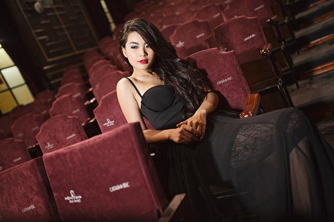Diễm Trang mong muốn sẽ được thử sức mình trong nhiều vai diễn ấn tượng khác