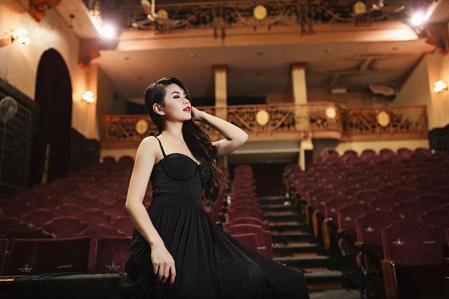 Mới đây, Diễm Trang đã có chuyến công tác tại Hà Nội