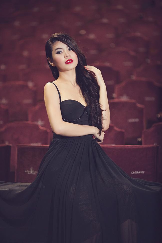 Diễm Trang luôn cố gắng giữ được hình ảnh đẹp trong mắt khán giả