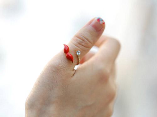 Khám phá 4 kiểu đeo nhẫn mới lạ - 19