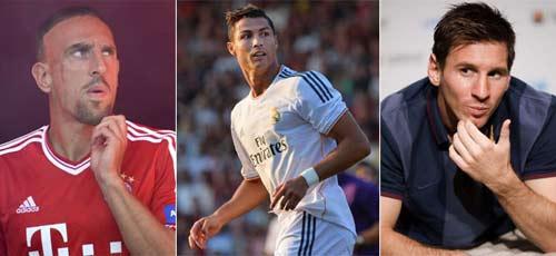 Cầu thủ hay nhất UEFA: CR7 là số 1? - 1