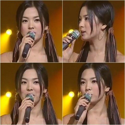 Video Song Hye Kyo 13 năm trước - 1