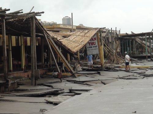 Bão số 6: Nam Định, Thanh Hóa thiệt hại nặng - 1