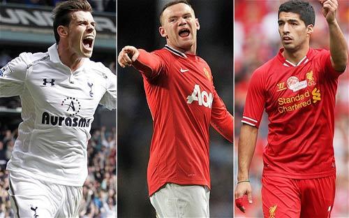 Nhà cái đặt cược tương lai Bale, Rooney, Suarez - 1