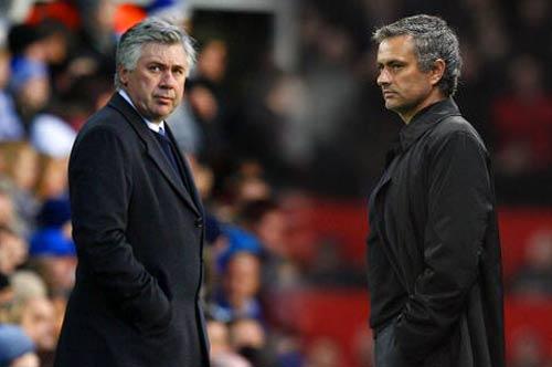 """Ancelotti phá giải """"lời nguyền"""" Mourinho - 1"""