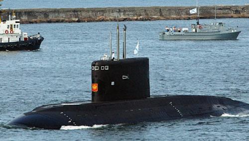 Sắp hạ thủy tàu ngầm Kilo thứ 3 của Việt Nam - 1