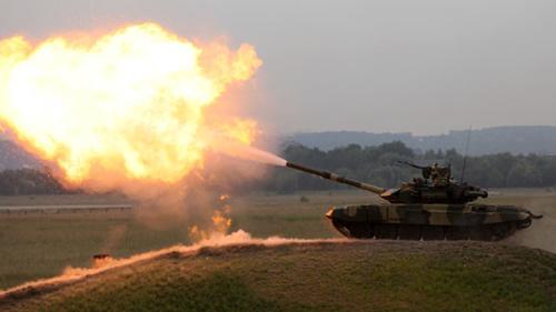 Nga tổ chức đua xe tăng bắn súng quốc tế - 1