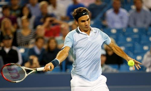Federer quay trở lại dùng vợt cũ - 1