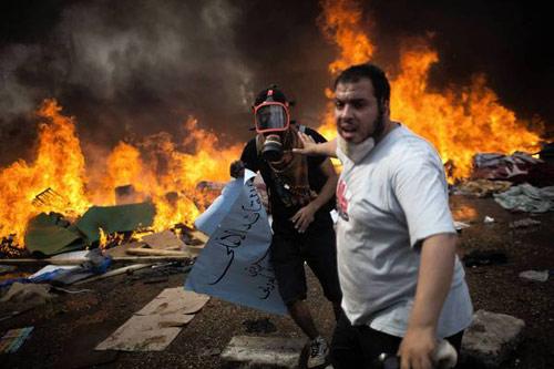 Ai Cập: Sẽ dùng đạn thật đối phó biểu tình - 1