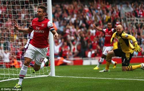 Arsenal thua sốc: Bão sớm - 1