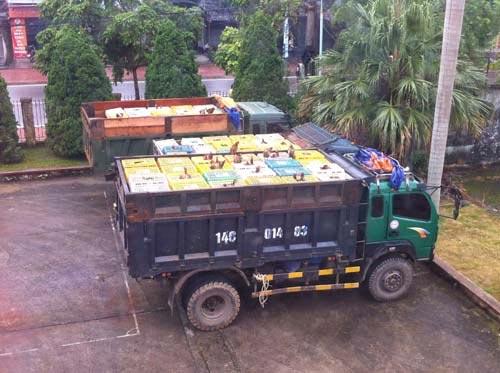Khởi tố vụ vận chuyển 10 tấn gà lậu Trung Quốc - 1