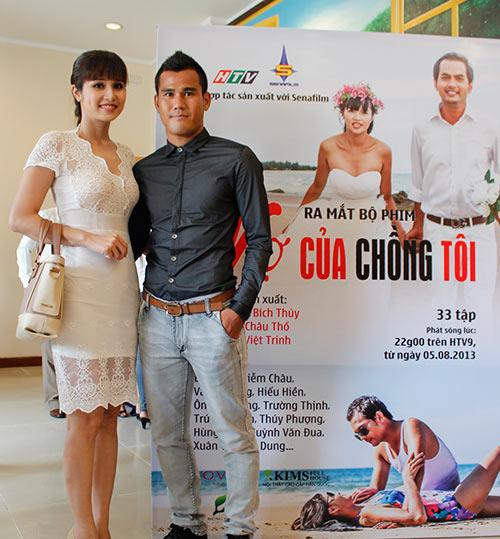 Vợ chồng Phan Thanh Bình đóng phim - 1