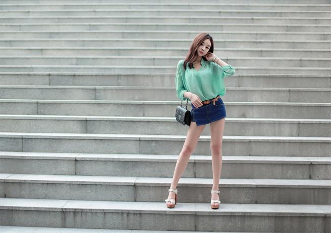 Với hai cửa hàng thời trang nổi tiếng ở Hàn Quốc