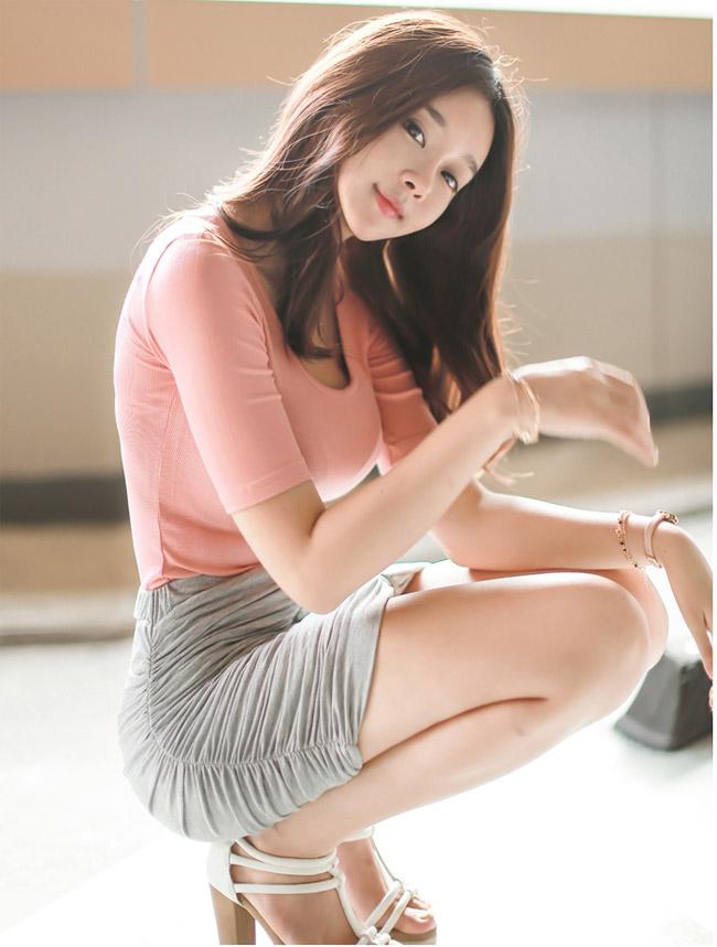 Cô hot girl xinh đẹp xứ Hàn Cho Min Yeong sở hữu vẻ đẹp như thiên thần